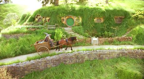 Maison de Hobbit, Le Seigneur des Anneaux