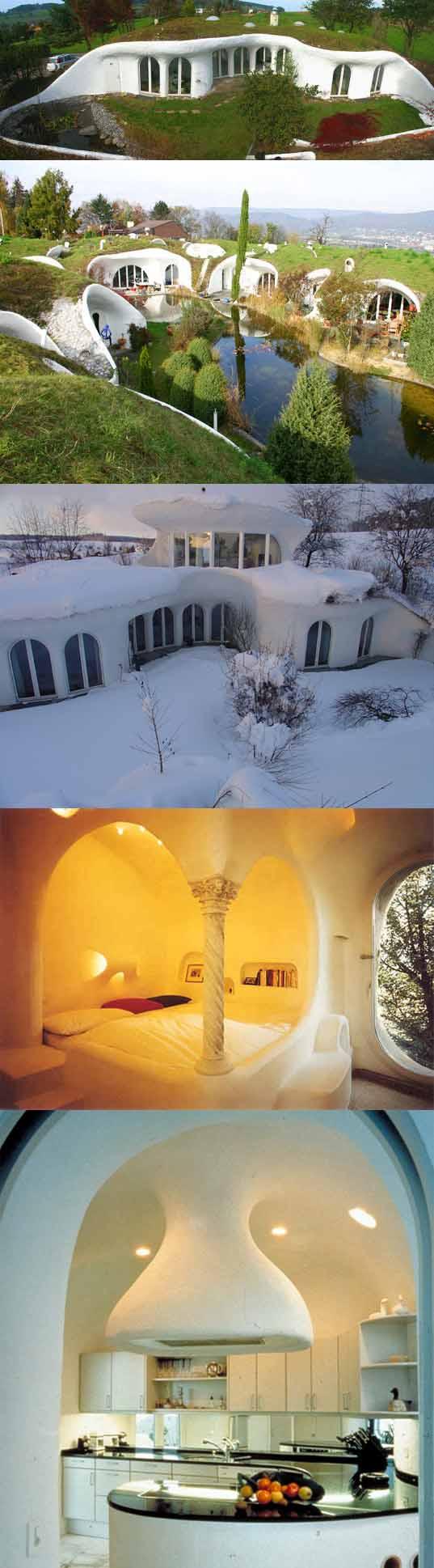 Les maisons organique de Peter Vetsch