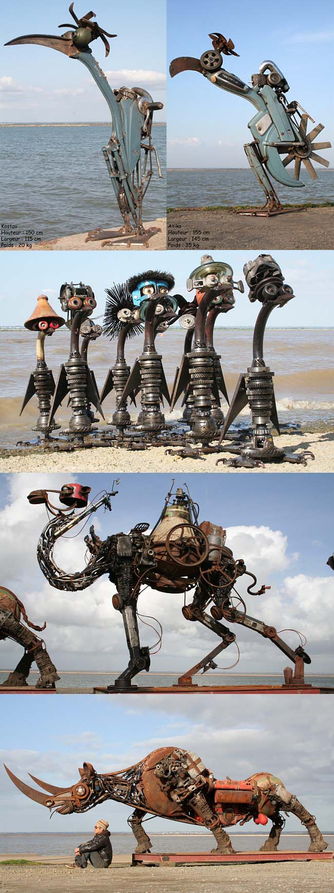 Sculptures de Christian Champin