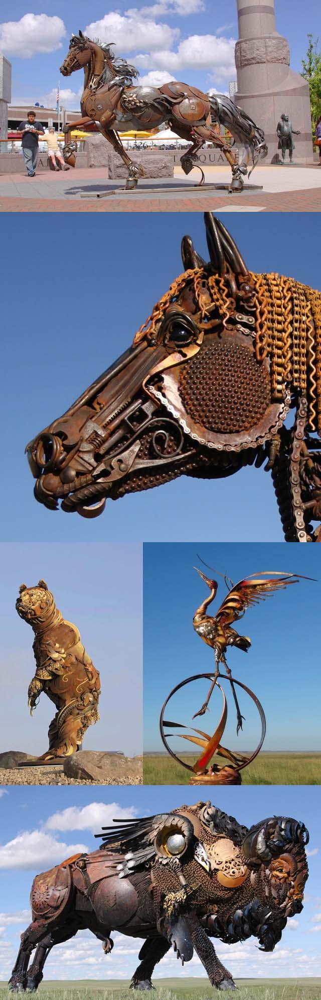 Sculptures de John Lopez