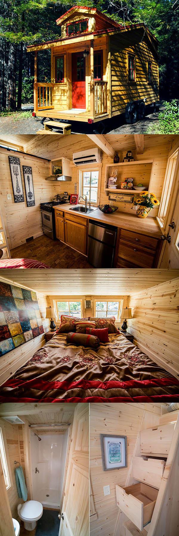Terra Sophia - Tinny house - Maison minuscule déplaçable