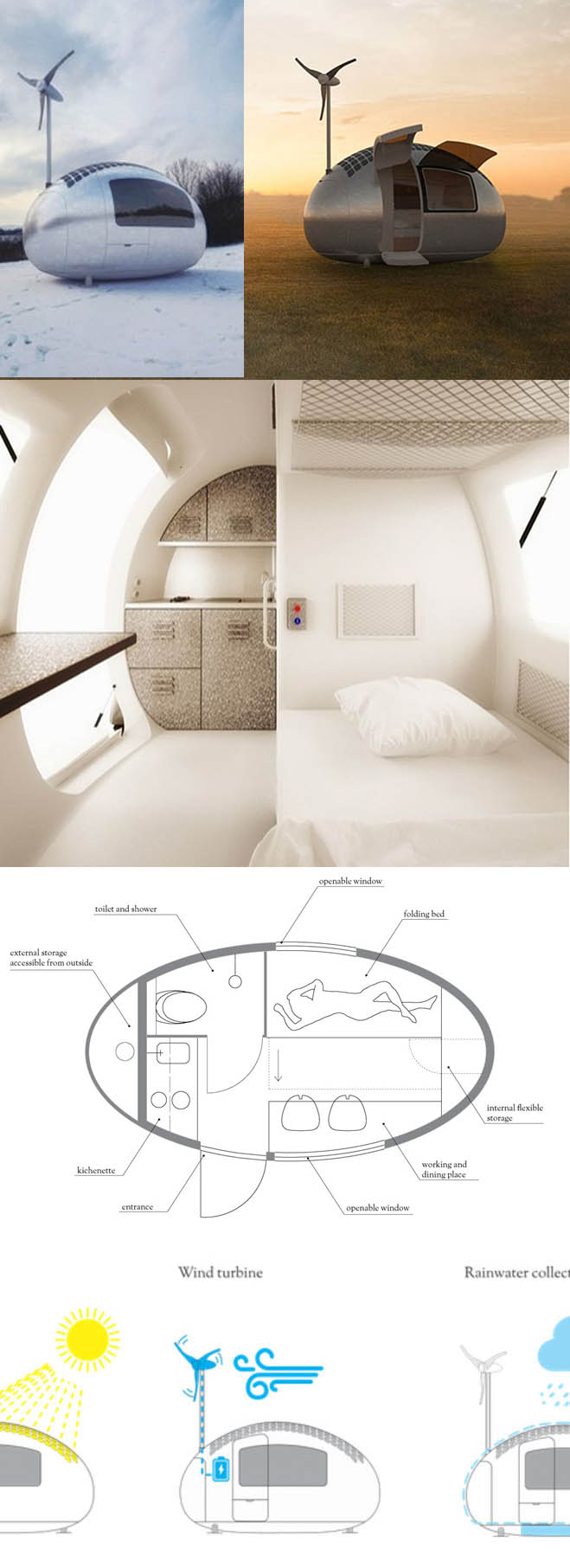 Terra Sophia- tiny house - maison capsule