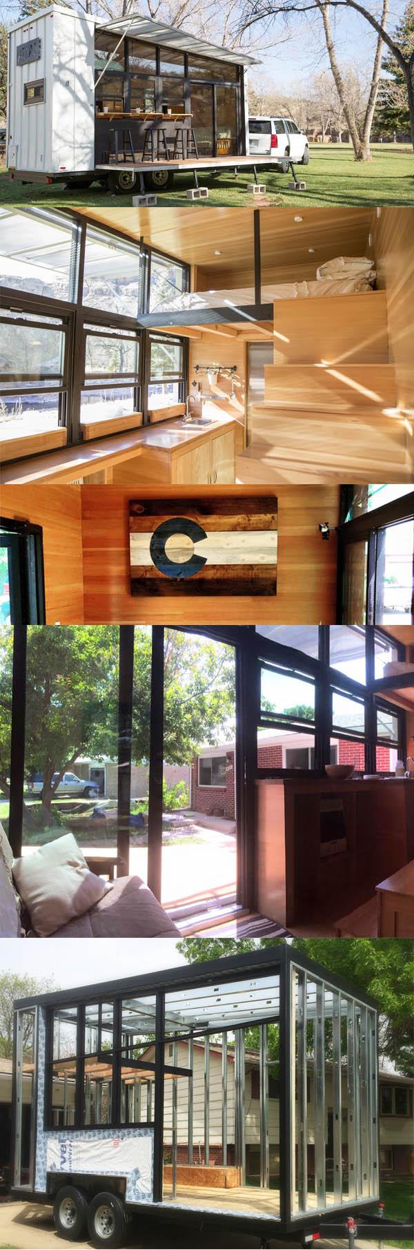 Terra Sophia, Tiny House - maison minuscule remorque