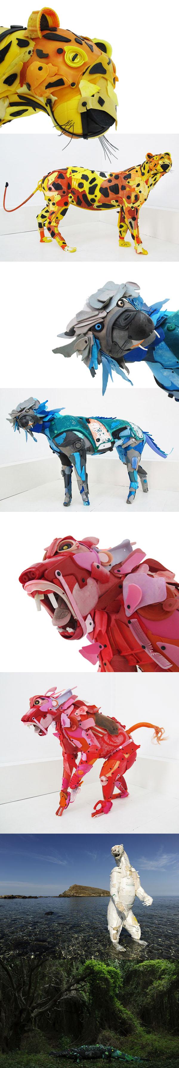 Terra Sophia - Sea Recup' Art - Sculptures de Gilles_Cenzandioti
