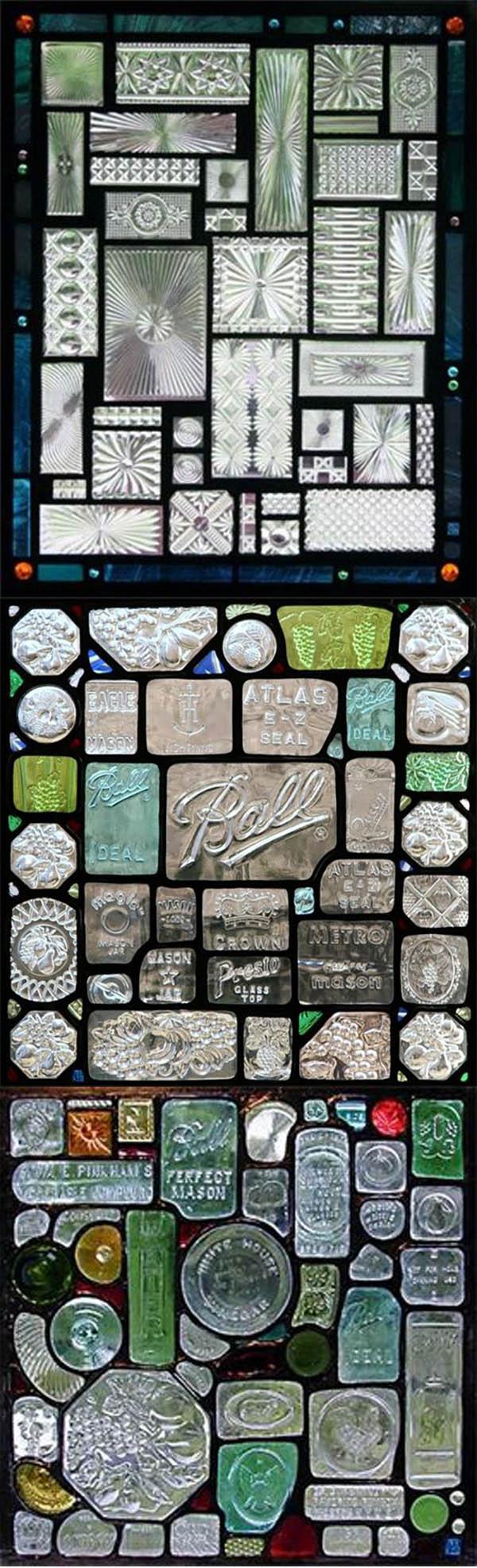 Terra Sophia - Les vitreaux en verre recyclé de Daniel Maher